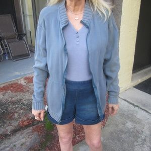 Blue Cardigan Jacket sz S